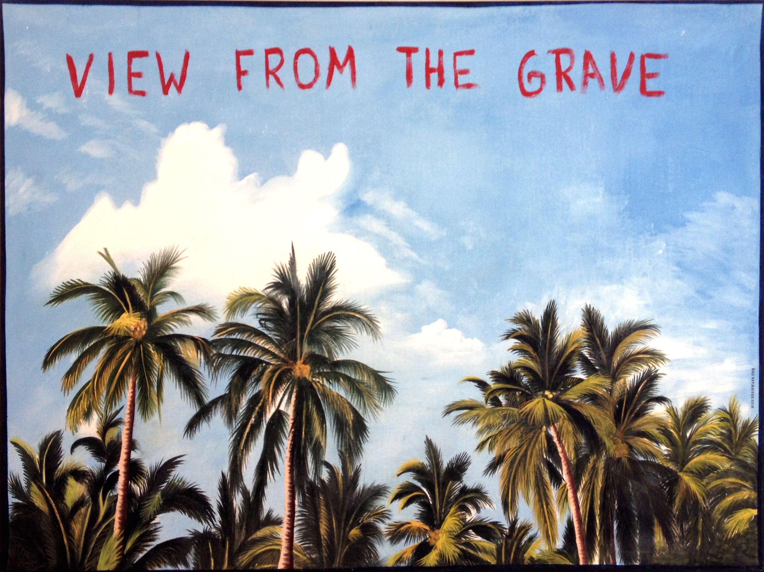 "Miss Brainwash ""view from the grave"""